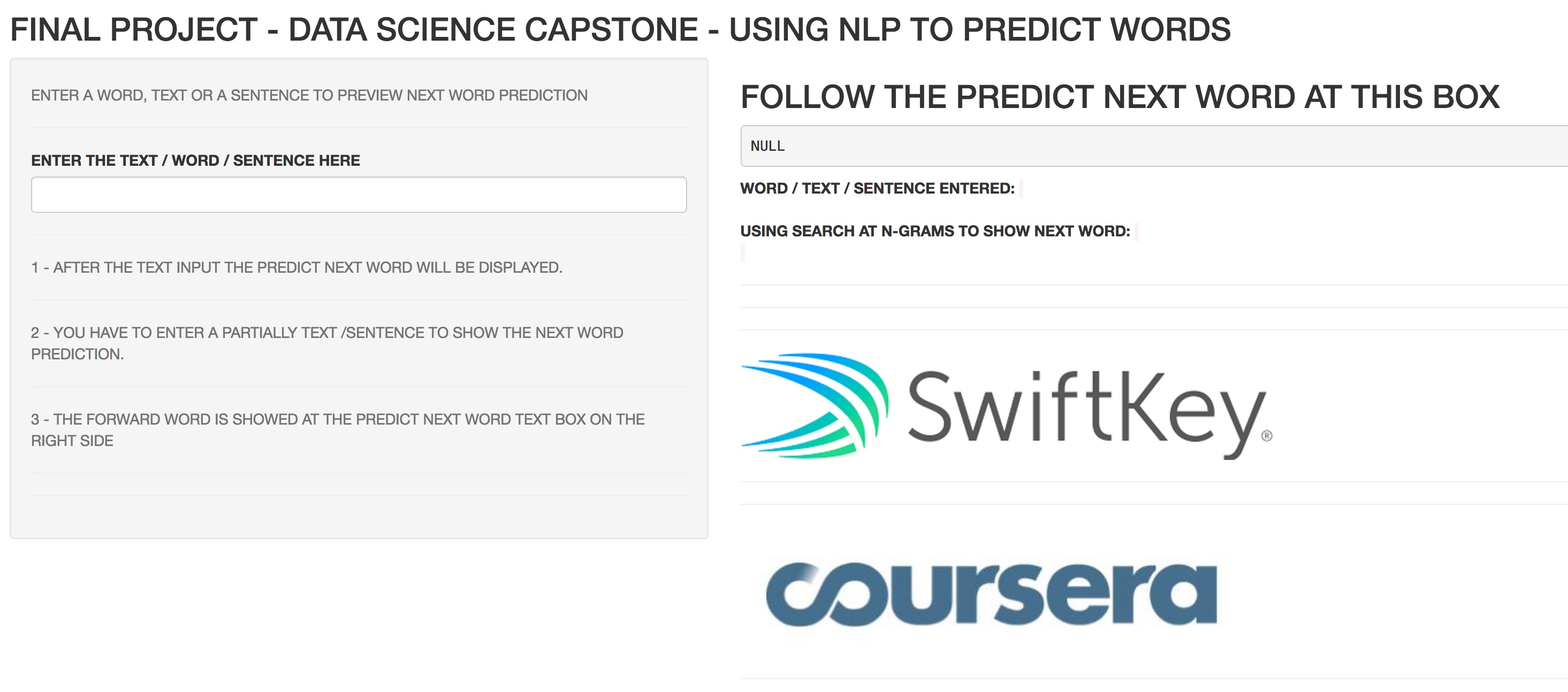 capstone project data science coursera github